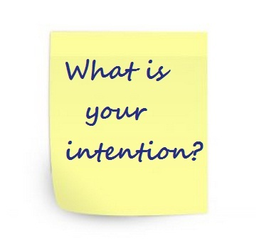 Intention post-it
